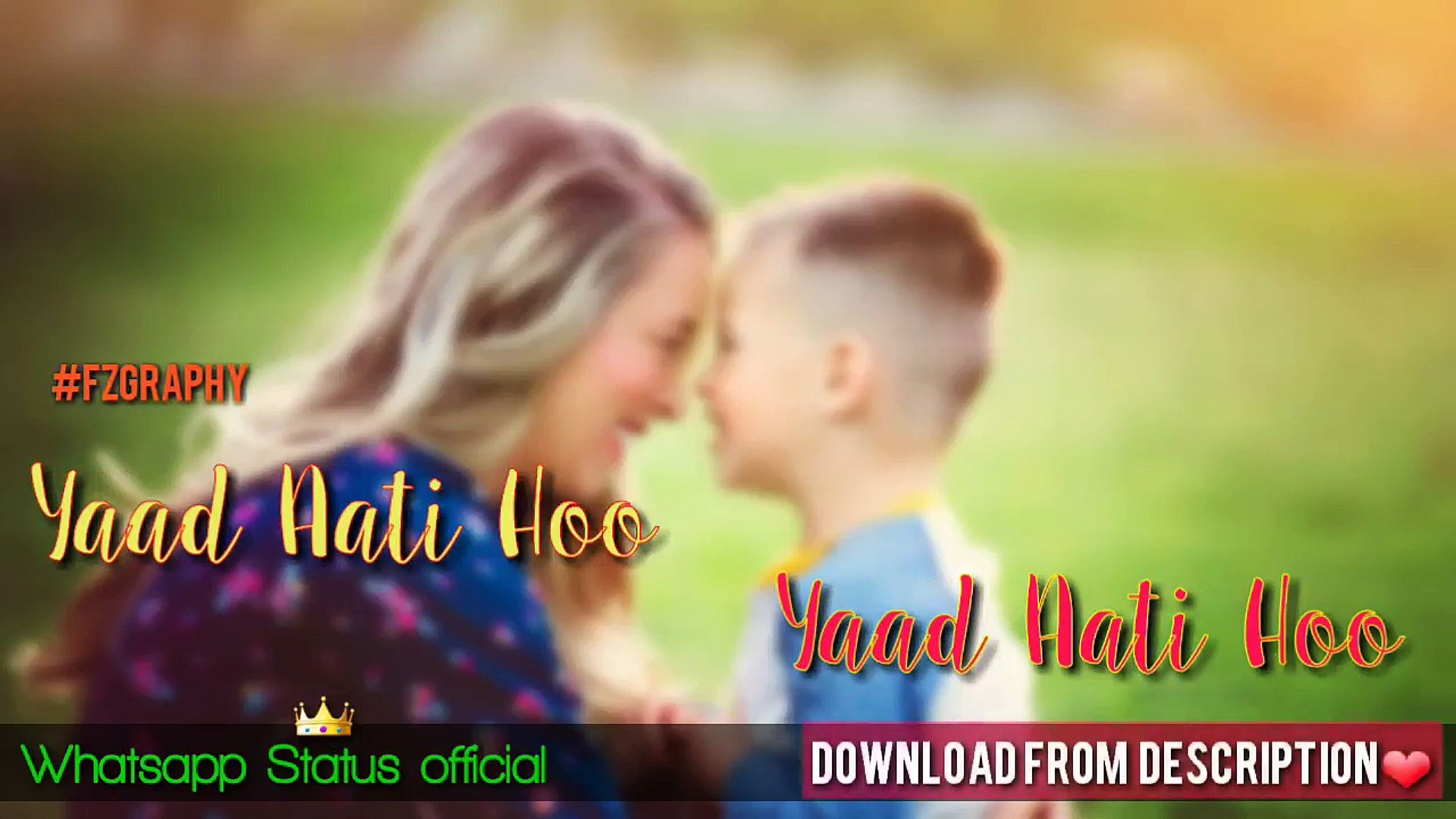 Mothers Day Whatsapp Status Video Happy Mothers Day