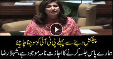 Before claiming, PTI should know that PPP had already been given permit for rally, Shehla Raza