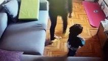 Ünlü oyuncu Özge Özpirinçci'nin 2 yaşındaki yeğenine uygulanan şiddetin görüntüleri ortaya çıktı