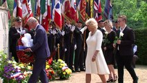 Prince Charles and Camilla attend VE Day commemorations