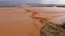 Şanlıurfa'da Şiddetli Yağış - Taşkın Nedeniyle Bazı Buğday ve Pamuk Tarlaları Sular Altında Kaldı