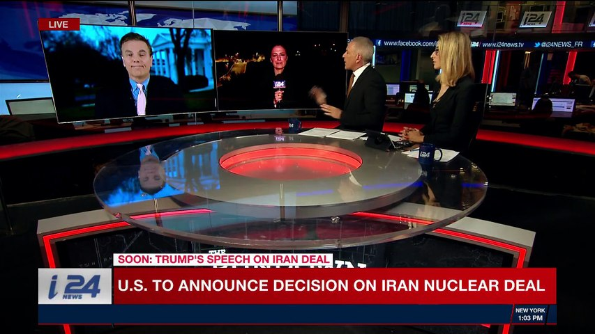 THE RUNDOWN | U.S. to announce decision on Iran nuclear deal | Tuesday, May 8th 2018