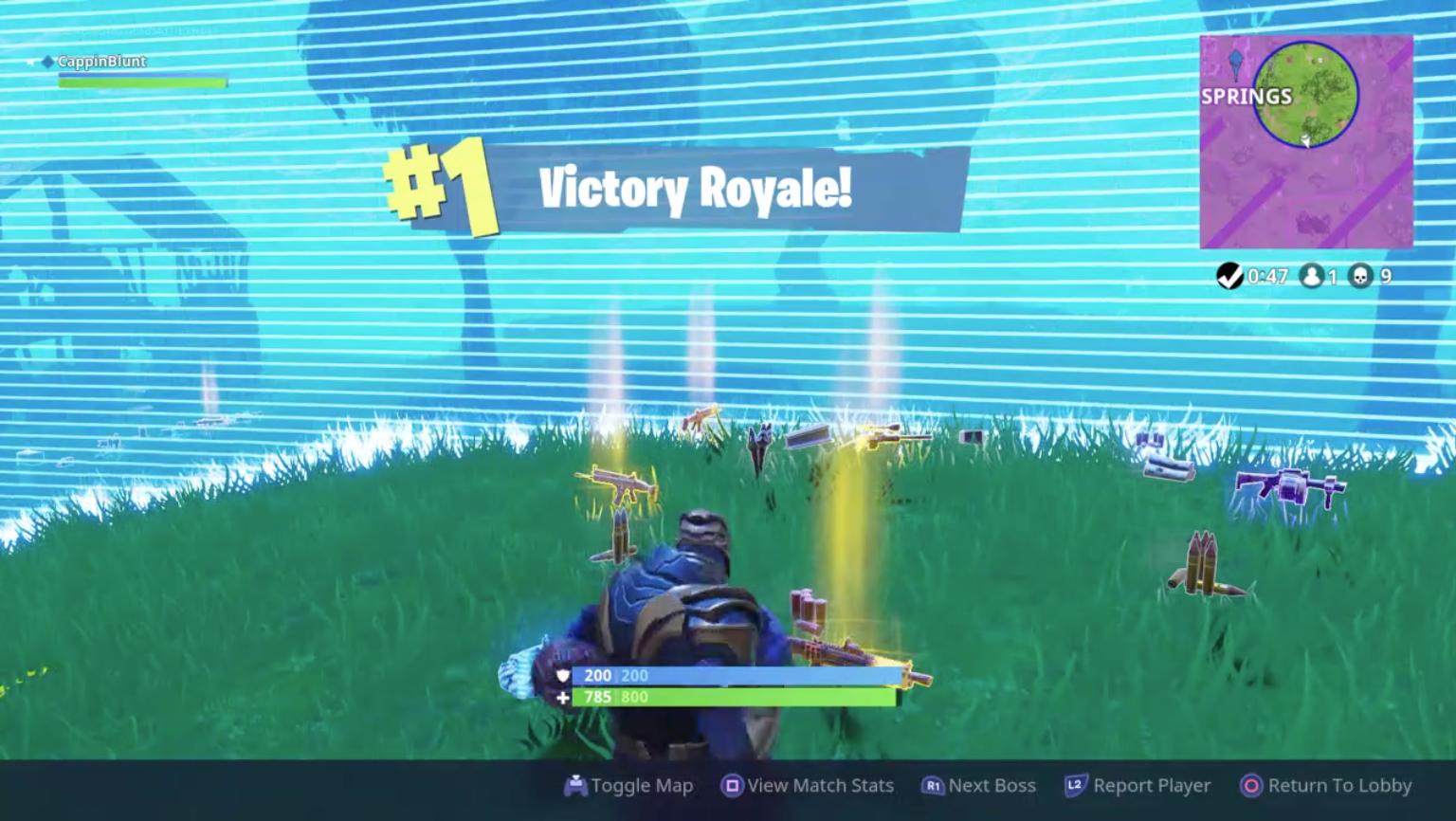 Fortnite – THANOS Victory