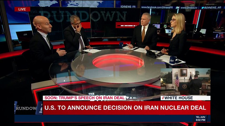 THE RUNDOWN | U.S. withdraws from Iran nuclear deal | Tuesday, May 8th 2018