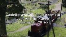 Modelleisenbahn H0 Neu Birkenfeld als Epoche III Schmalspur vom MSC Spijkspoor - Ein Video von Pennula zum Thema Modellbahnanlage und Modelleisenbahnausstellung