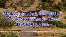 Modelleisenbahn vom Club de Modélisme de Draveil Modellbahn Ausstellung Köln - Ein Video von Pennula zum Thema Modellbahnanlage und Modelleisenbahnausstellung