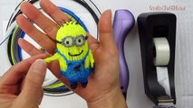 Phone Case Despicable Me Minion - How to Tutorial- 3D Printing Pen/Scribbler DIY