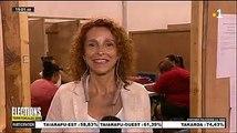 Même en pleine soirée électorale, on n'oublie pas l'anniversaire des collègues  Joyeux anniversaire Caroline Farhi !