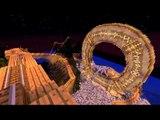 Minecraft: A MAIOR MONTANHA RUSSA DE TERROR DO MUNDO!! (Horror Roller Coaster)