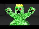 Minecraft: MONTANHA RUSSA DO REI CREEPER! SUPER ÉPICA!! (Creeper Roller Coaster)