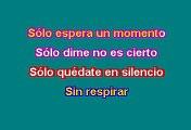 RBD - Solo quédate en silencio (Karaoke)
