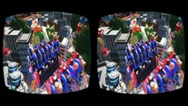 VR Video 3D Roller Coaster VR Mario for VR BOX 3D not 360 VR Virtual Reality 3D SBS