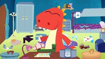 Learn How to Arrange the Bedroom with Eddie _ EDDIE_ The messy Dinosaur arranges