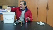 Freezing pipes & soda can science demonstration // Homemade Science with Bruce Yeany