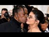 Travis Scott Passionately Kisses Kylie Jenner On Met Gala Red Carpet | Hollywood Buzz