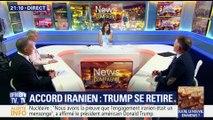 Nucléaire iranien: Donald Trump retire les États-Unis de l'accord de Vienne