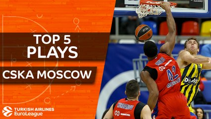 CSKA Moscow - Top 5 Plays