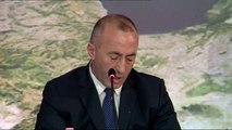 MBLEDHJA E DY QEVERIVE NE KORÇE, SHQIPERIA DHE KOSOVA NENSHKRUAJNE 12 MARREVESHJE BASHKEPUNIMI LAJM