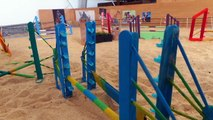 [Cours schleich] sport etude galop 4 obstacle