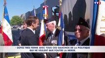«Soyez ferme avec tous ces gauchos» : Emmanuel Macron interpellé - ZAPPING ACTU DU 09/05/2018