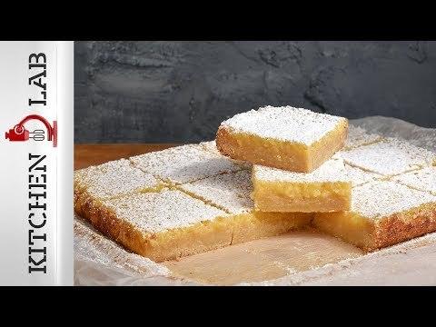 Μπάρες λεμονιού Επ.40 | Kitchen Lab TV