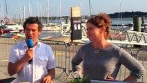 Evan de Bretagne à quai à Lorient