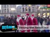 Τρομερό σόου απο  Άι Βασίλη-Dancing with the star Santa Claus!