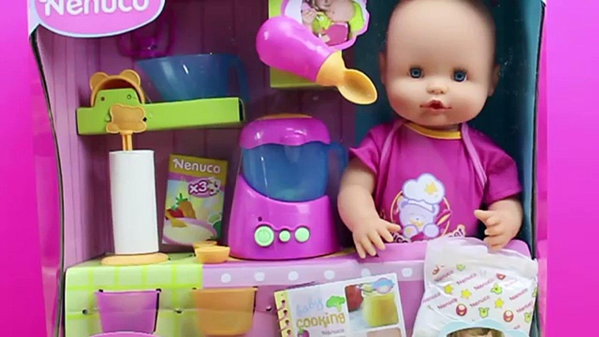 Venta caliente 2019 60% de descuento niño Bebé NENUCO Merienditas | La bebé come papilla y hace pipí de verdad |  NENUCO en español