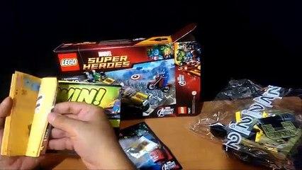 Super Heroes LEGO Marvel Capitan America Vs Hydra Set 76017 Canal Lego Review Marvel Comics