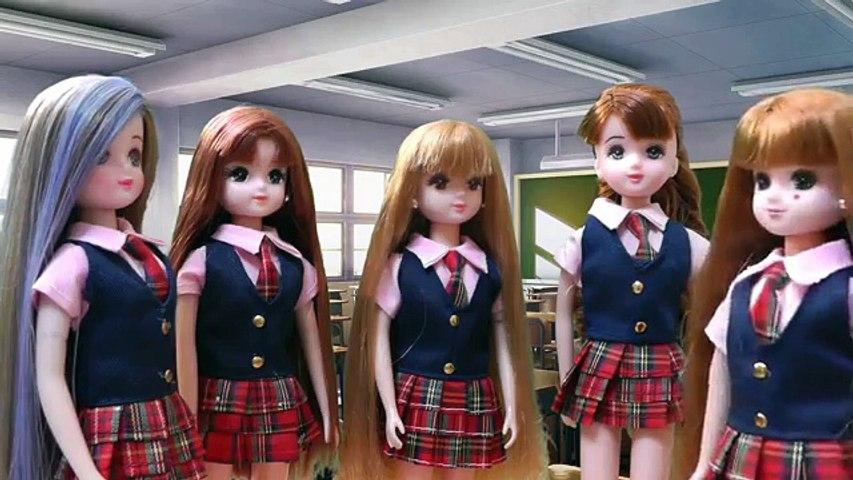 リカちゃん人形 アニメ☆ニキビができちゃってパックをしたら・・・オバケ!?☆おもちゃ ハウス おもしろ