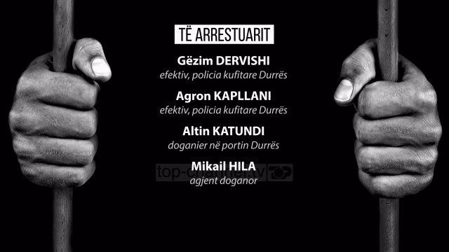 "Droga ""fikte"" skanerin; arrestohen dy policë dhe dy doganierë - Top Channel Albania - News - Lajme"