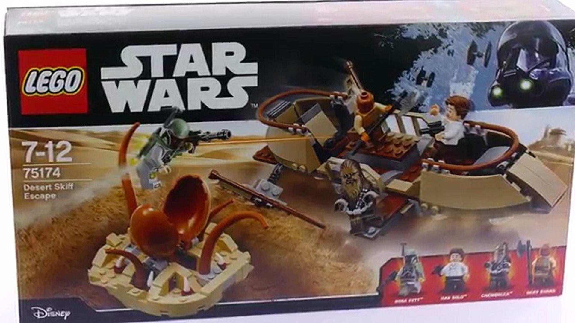 LEGO ® Star Wars Set 75174//Desert Skiff Escape