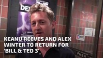 Keanu Reeves and Alex Winter to Return for 'Bill & Ted 3'