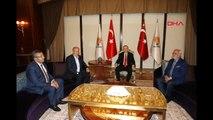 Cumhurbaşkanı Adayı İnce, Cumhurbaşkanı Erdoğan ile Görüşmek İçin AK Parti Genel Merkezi'nde