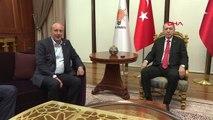 Cumhurbaşkanı Adayı İnce, Cumhurbaşkanı Erdoğan ile Görüşmek İçin AK Parti Genel Merkezi'nde -Hd