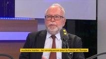 """Nucléaire iranien : """"Il ne faut pas sortir de cet accord. La France devrait reprendre son bâton de pèlerin et être à nouveau l'arbitre au Proche-Orient"""", explique Wallerand de Saint-Just, président du groupe FN au conseil régional d'Île-de-France #TEP"""