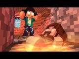 Minecraft: WHO'S YOUR DADDY? Bebé + Forno = CHURRASCO DE BEBÉ?! ( Bebé na Cozinha) ft Rezende