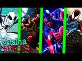 Minecraft : SPIDER BRANCO vs IRON SPIDER vs SPIDER DO FUTURO vs CLONE DO SPIDER - BATALHA DE HERÓI