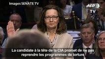 CIA: Haspel répond sur l'usage de la torture après le 11/09