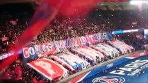 PSG vs Monaco : ambiance au Parc des Princes + but Cavani (29/01/17)