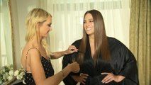 Exclusive: Ashley Graham Gets Met Gala Ready