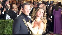 Tom Brady and Gisele Bündchen at #HeavenlyBodies: Fashion & the Catholic Imagination Costume Institute Gala at the Metropolitan Museum of Art in New York city.