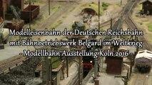 Modelleisenbahn Deutsche Reichsbahn mit Bahnbetriebswerk Belgard im Weltkrieg - Ein Video von Pennula zum Thema Modelleisenbahnanlage und Modellbahnausstellung