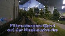 Zugfahrt auf der Neubaustrecke im Hans-Peter Porsche TraumWerk - Ein Video von Pennula zum Thema Modelleisenbahnanlage und Modellbahnausstellung