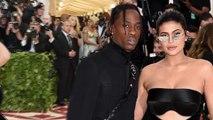 Kylie Jenner's comeback! Stormi's mom returns to red carpet in peekaboo dress with boyfriend Travis Scott at Met Gala