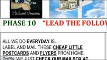 Phase 10 Make Money at Home Mailing Flyers and Mailing Postcards REFERRAL ID# 162258 MICHAEL JENSEN (LEVEL 10) GOLD STAR LEADER