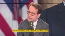 """Sanctions américaines contre l'Iran : """"Si l'Europe fait bloc sur ces sujets-là, les capacités de rétorsion, de sanctions des États-Unis seront émoussées, beaucoup plus faibles"""", Gilles Le Gendre"""