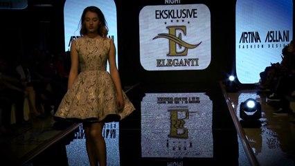 Albanian Fashion Night 2017/Dizajnere Artina Asllani/ Producent Dashnor Asllani Moda City