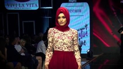 Albanian Fashion Night 2017/Dress Islamik /Producent Dashnor Asllani Moda City