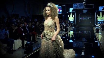 Albanian Fashion Night 2017/Dizajnere Merita Meri  Producent Dashnor Asllani Moda city